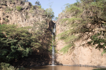 Waterfall in African Semi-Desert