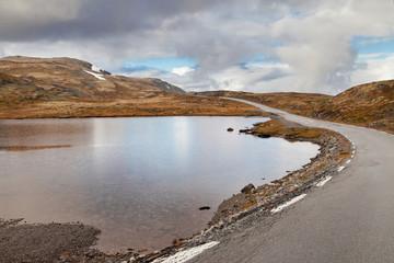 Norwegian Scenic Route Aurlandsfjellet