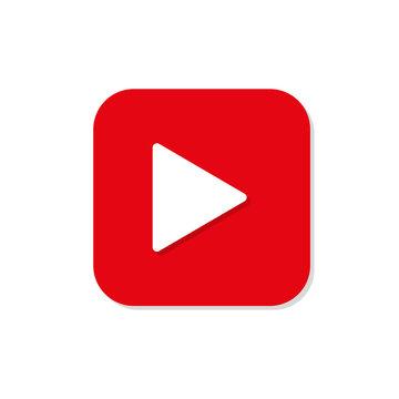 video icon logo vector illustration flat design
