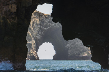 Ballestas Islands near Paracas, Ica Region, Peru