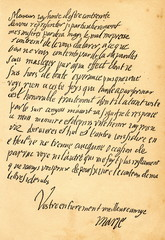 Letter from Mary, Queen of Scots, to the french ambassador in England (from Spamers Illustrierte Weltgeschichte, 1894, 5[1], 642/643)