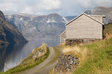 Otternes and the Aurlandsfjord