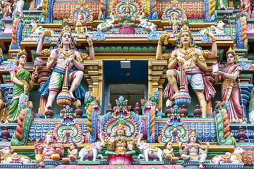 detail of Arulmigu Kapaleeswarar Temple, Chennai, Tamil Nadu, India