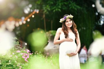 Pregnant women.