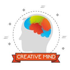 creative mind set icons vector illustration design