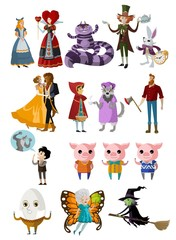 fantasy fables characters collection