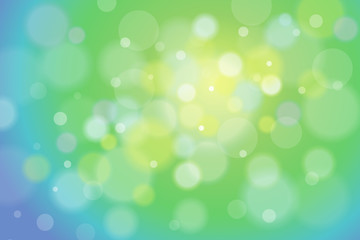 Soft Focus Spring Vector Background Illustration 1