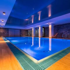 Hotel spa swimming pool