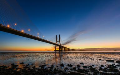Ponte Vasco da Gama; Lissabon