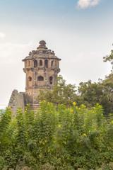 watchtower, Hampi, Karnataka, India