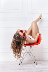 pin-up sexy style