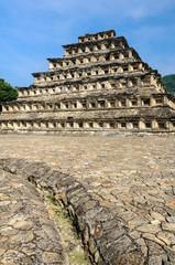 Pyramid of the Niches, El Tajin, Veracruz, Mexico