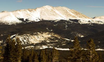 View of Bald Mountain in Breckenridge, Colorado.