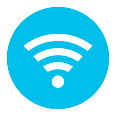 Internet wifi round button