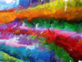 Abstract colorful waves texture background