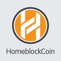 Homeblockcoin - Crypto Currency Element.