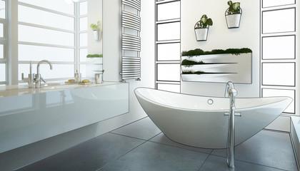 Modern Bathroom Adaptation (conception)