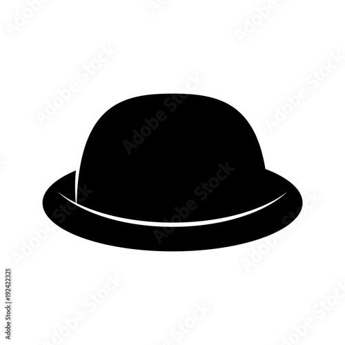 Fashion Hat Women S Black Hat Lady Retro Hat Vector Stock Image