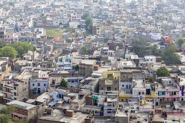 Jaipur city from Nahargarh Fort, Jaipur, Rajasthan, India