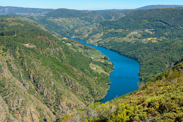 Sil Canyon, Orense, Spain