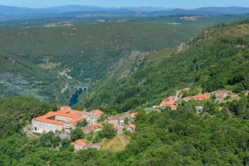 Monastery of San Esteban (Ribas de Sil), Orense, Spain