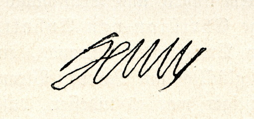 Autograph of Henry IV of France, King of Navarre (as Henry III) and King of France (from Spamers Illustrierte Weltgeschichte, 1894, 5[1], 673)