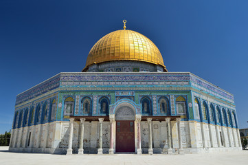 The Dome of the Rock on the Temple