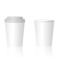 Mock up paper cup
