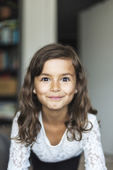 Portrait of girl in Sweden