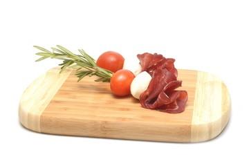 Wall Mural - Tomato and mozzarella
