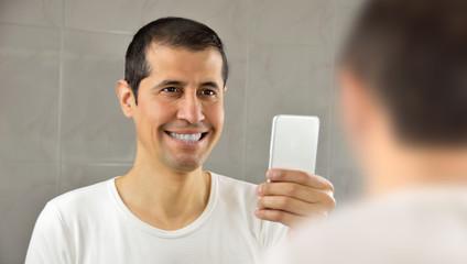 I like my white teeth