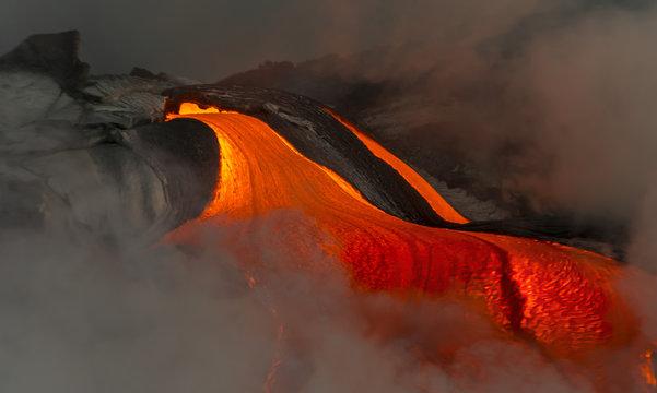 Lava River on Hawaii's Big Island