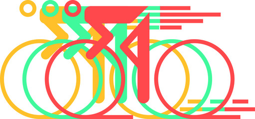 road bike pictogramm