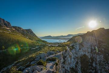 Aussichtspunkt auf Mallorca mit blick auf Formentor