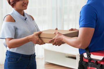 Delivering order