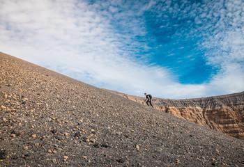 seul face au désert