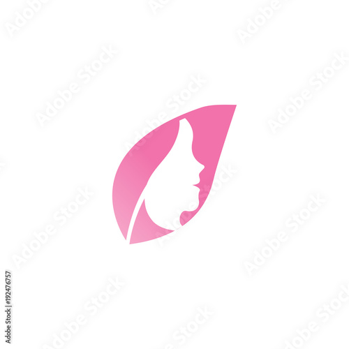 spa aesthetic logo design template vector stock image and royalty