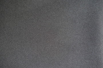 Top view of simple dark gray fabric