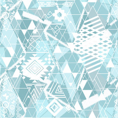 Seamless ethnic Pattern. Abstract background for textile design, Wallpaper, surface textures, wrapping paper.