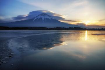 sunrise at Mt.Fuji