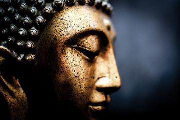 Foto op Canvas Boeddha Figura buda