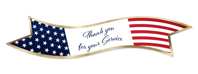 Veterans Service Banner