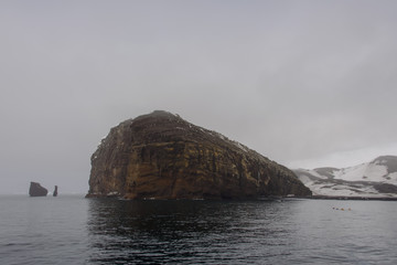 Rock in Deception island