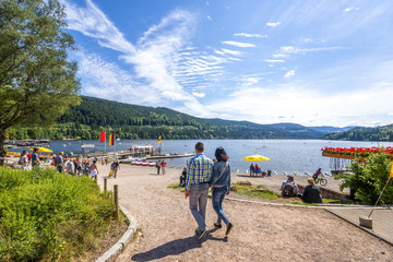 Wall Mural - Titisee, Schwarzwald