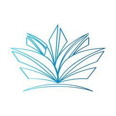 Isolated spa logo