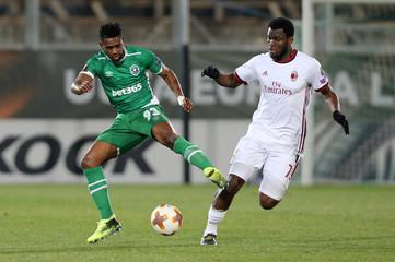 Europa League Round of 32 First Leg - PFC Ludogorets Razgrad vs AC Milan