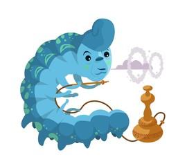 alice in wonderland hookah smoking caterpillar
