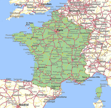 France-World-Countries-VectorMap-A