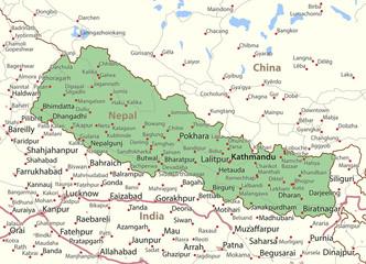 Nepal-World-Countries-VectorMap-A