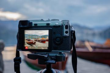 Modern MILC camera